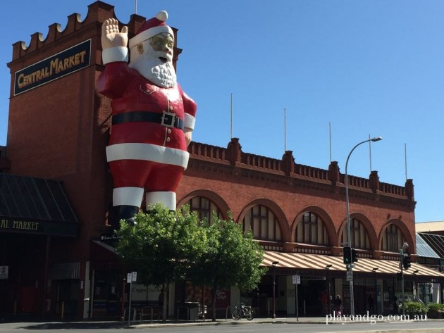Father Christmas is back at Central Market