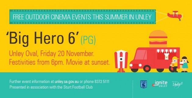 Unley Cinema Big hero 6