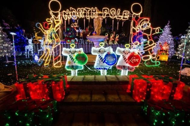 christmas lights for heart kids