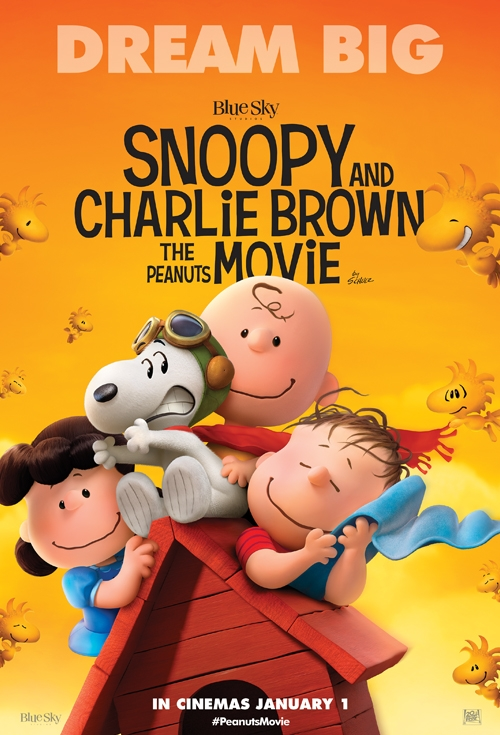 Snoopy and Charlie Brown: The Peanuts Movie   In cinemas from 1 Jan 2016