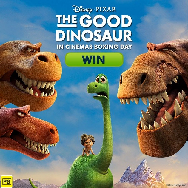 ended win tickets for disney pixar the good dinosaur in cinemas