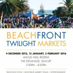 beachfront twilight markets