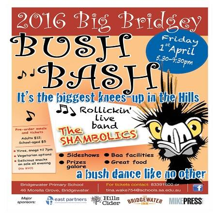 Bridey Bush Bash