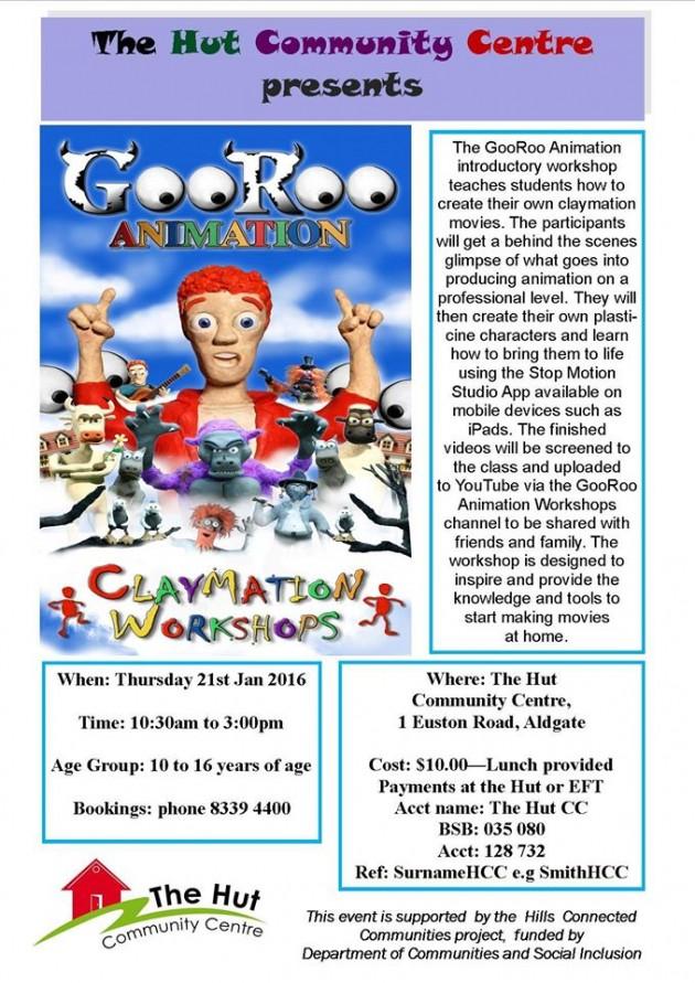 GooRoo Animation workshop