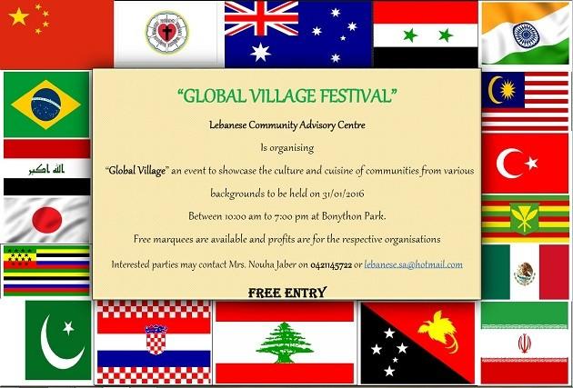 Global Village Flyer