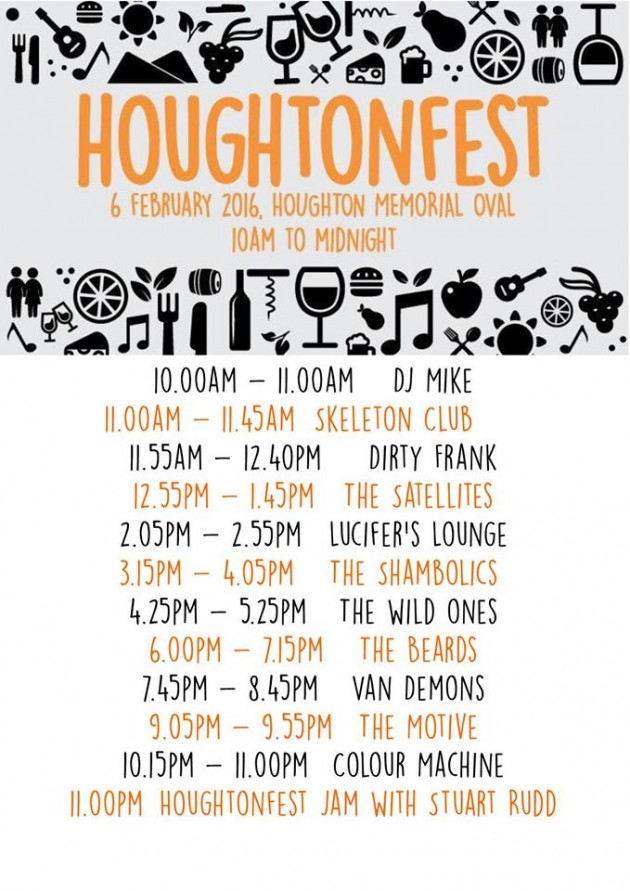 houghtenfest line up