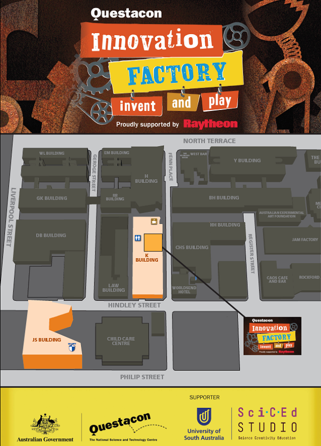 innovation factory map
