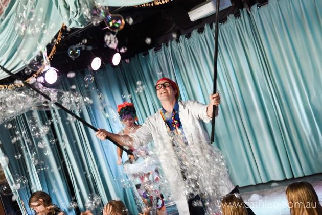 bubbles fringe show