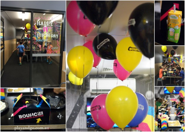 Bounce Inc Kids Party Review - bounce party room
