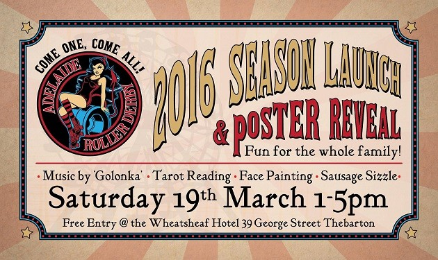 roller derby festival launch poster reveal