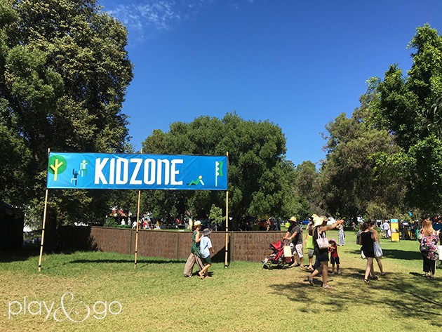 womad kid zone