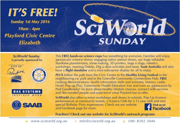 SciWorld Sunday