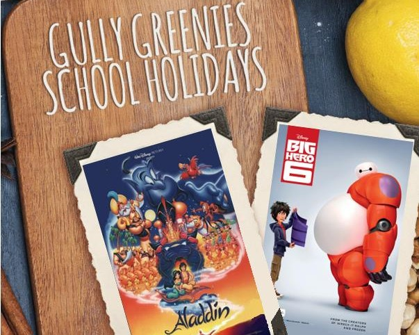 The gully movies school holidays