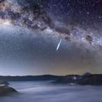 Eta Aquarid Meteor - photo source: Justin Ng Photography