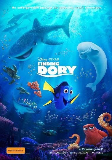 Disney Pixar Finding Dory poster