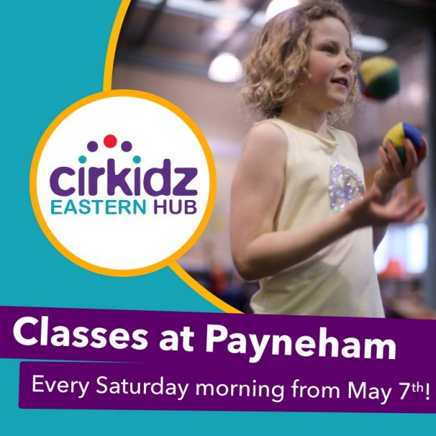 cirkidz classes at payneham