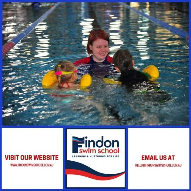 findon swim school learning to swim