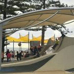 glenelg foreshore playground new shade