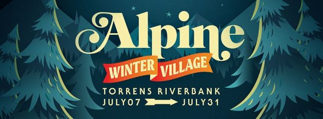 Alpine Winter Village in Adelaide July 2016