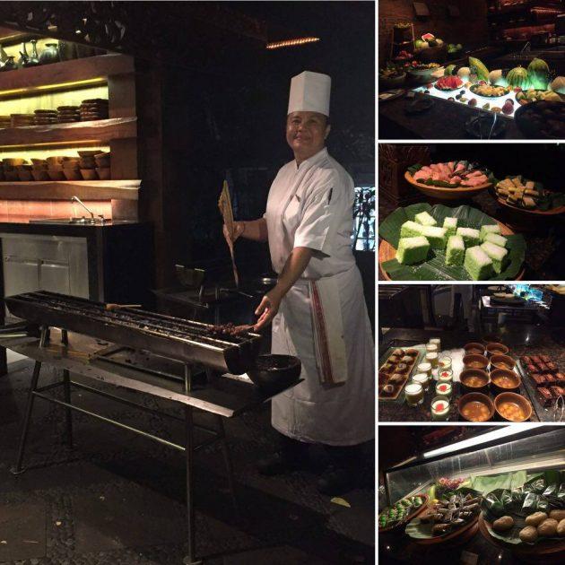 Grand Hyatt Bali Indonesian buffet