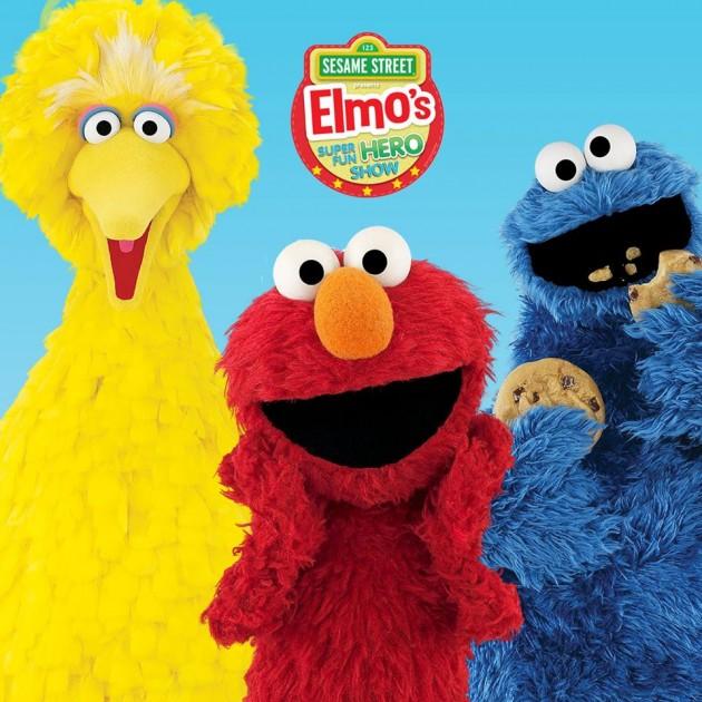 Sesame Street Elmo's Super Fun Hero Show Nov 16
