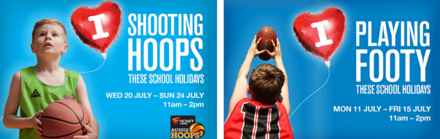 Free basketball, handball and pizza making activities