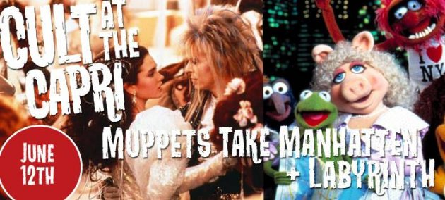Cult At The Capri - Muppets and Labyrinth