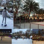 Alpine Winter Village ice skating rink in Adelaide
