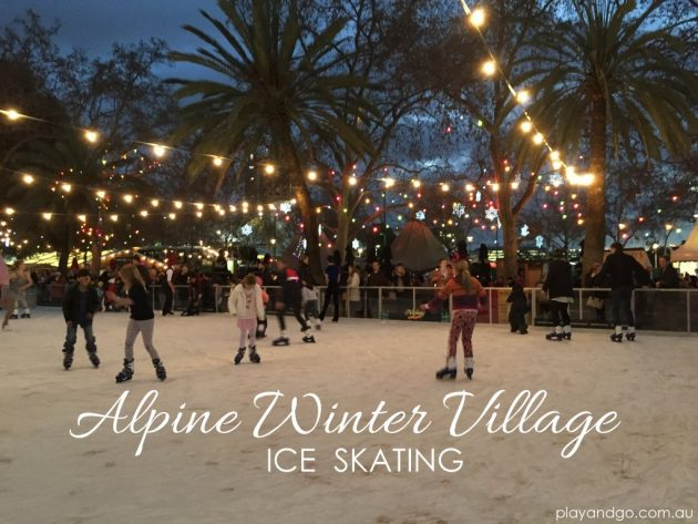 Alpine Winter Village Ice Skating Adelaide