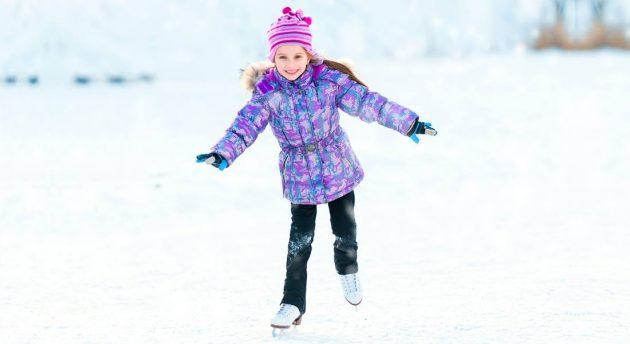 Santas Wonderland ice skating