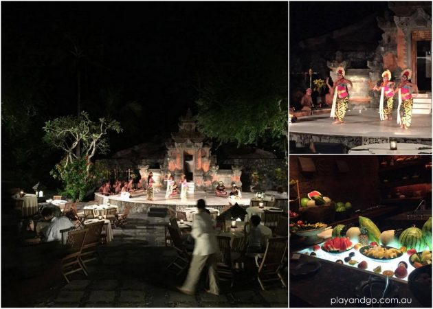 Bali Grand Hyatt cultural show