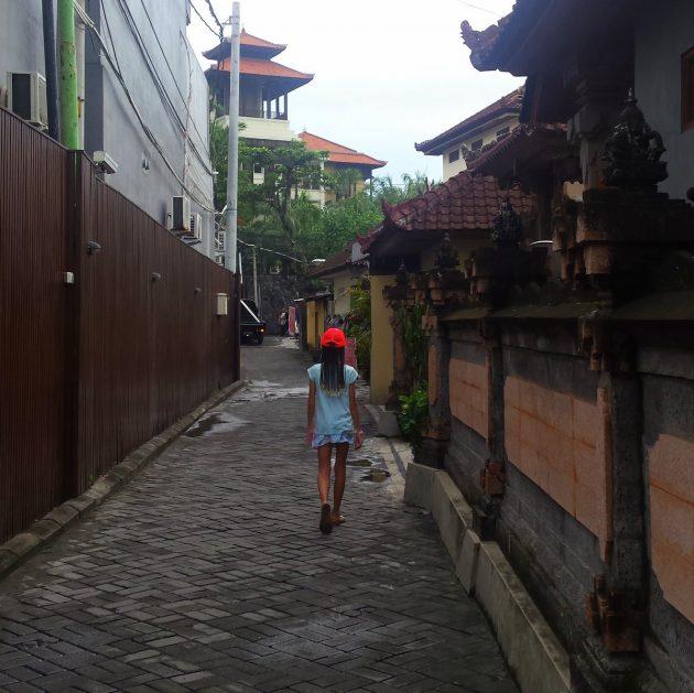 Bali Seminyak alley