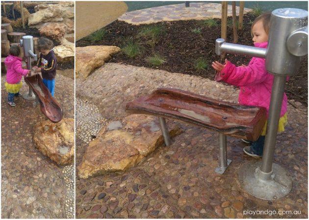 Jervois St Plympton Playground water play