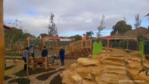Jervois St playground steps