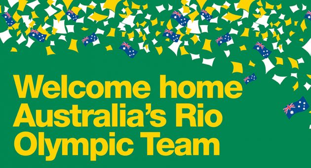 Welcome Home Olympic Team Adelaide