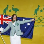 Australian Olympic Flag Bearer