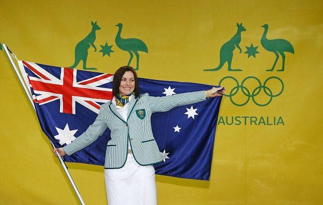 Australian Olympic Flag Bearer