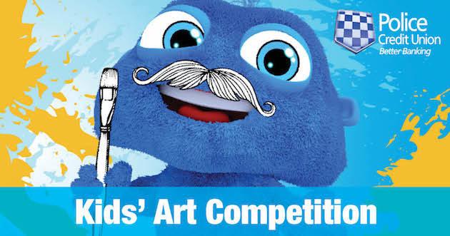 Calendar Art Competition : Police credit union calendar art competition aug