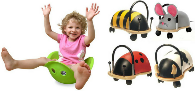 Birthday Present Ideas for a One Year Old - Bilibo and Wheeliebug
