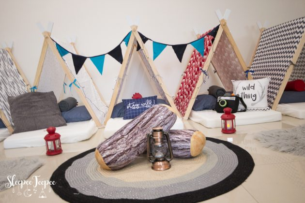 Children's birthday parties Adelaide - Sleepee Teepee