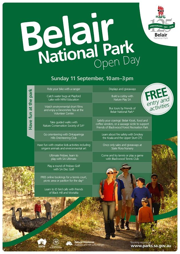 Belair NP open day