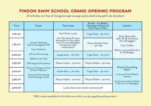 Grand Opening Flyer_Program