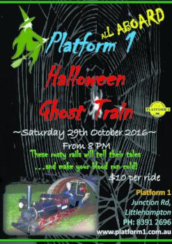 Platform 1 Halloween