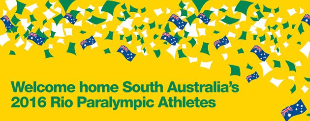 welcome home south australias rio paralympic athletes