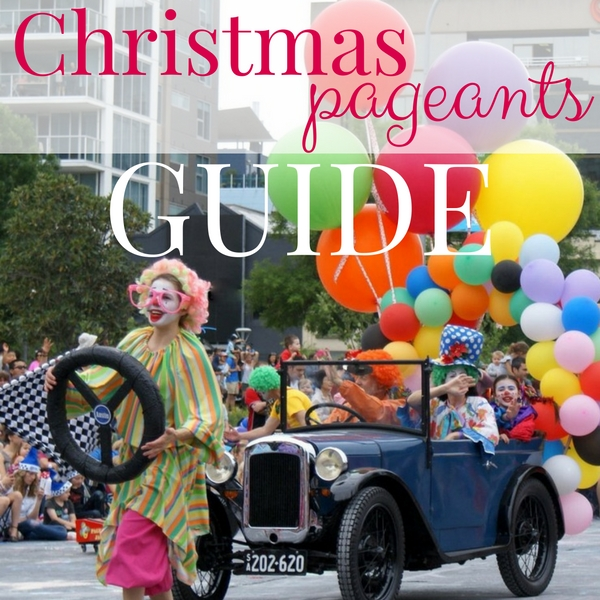 Christmas pageants adelaide guide