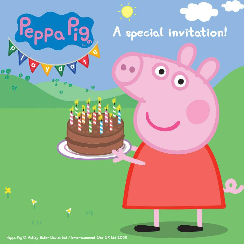 ended win tickets to peppa pig playdate in adelaide 20 to 23 apr play and go