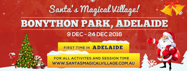 Win tickets to Santa's Magical Village