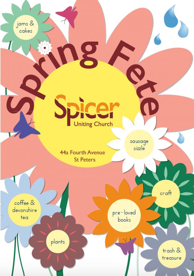 Spring Fete Spicer Church