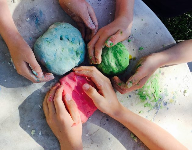 how to make uncooked playdough