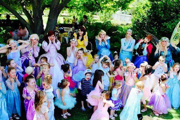 Princesses at Partridge House